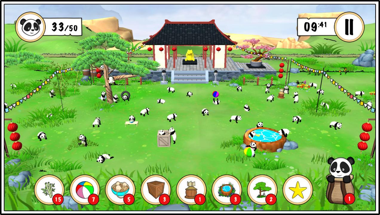 Panda Game Screenshot 1