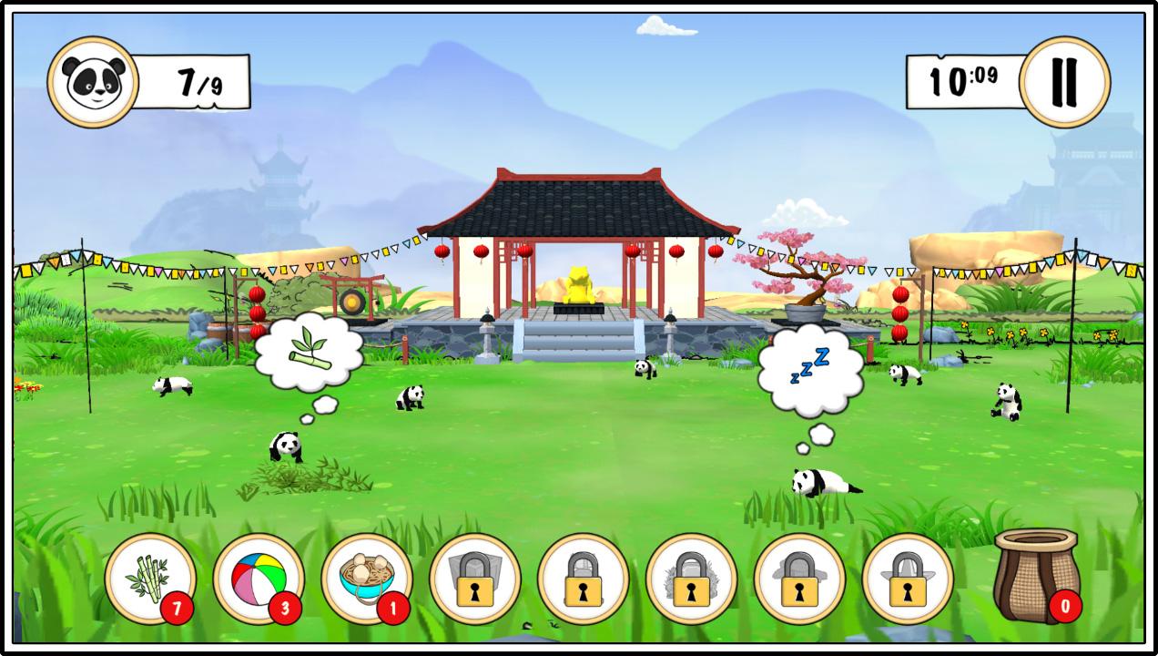 Panda Game Screenshot 2