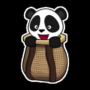 Panda in a Basket