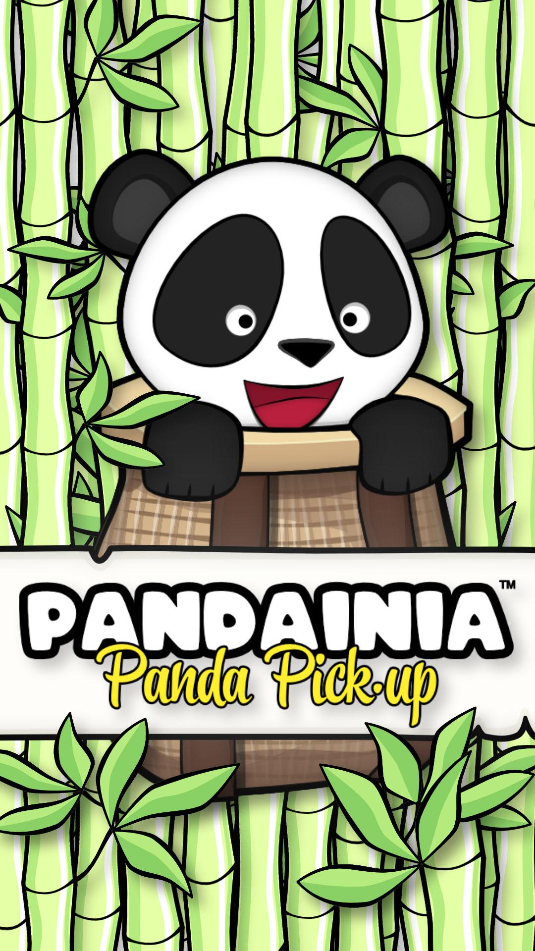 PANDAINIA Panda Pick-Up Mobile Title
