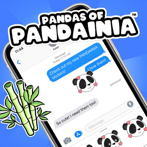 Pandainia iOS Sticker App